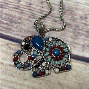 Mudd elephant necklace